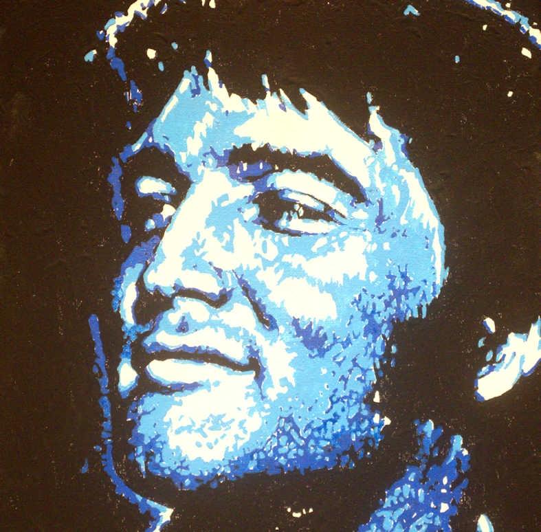 Elvis Presley by MarcusWellsArt